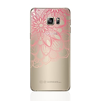 Case For Samsung Galaxy S8 Plus S8 Transparent Pattern Back Cover Heart Lace Printing Soft TPU for S8 Plus S8 S7 edge S7 S6 edge plus S6
