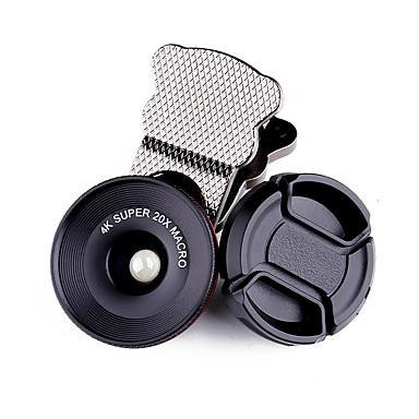lentilă pentru telefoane mobile, lentilă din aliaj de aluminiu cu lentilă de 10x și peste