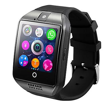 Q18 스마트 시계 액티비티 트렉커 긴 대기시간 칼로리 태움 계보기 엑서사이즈 로그 카메라 알람시계 디스턴스 트렉킹 커뮤니티 공유 착용할 수 있는 GPS 슬립 트렉커 타이머 스톱워치 내 전자제품 찾기 블루투스 4.0 NFC