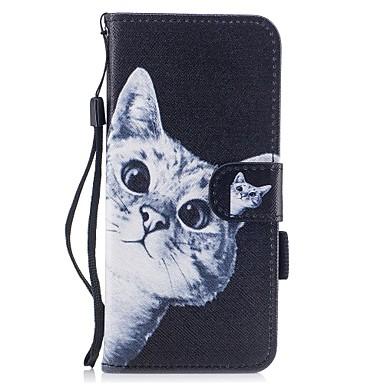 Maska Pentru Samsung Galaxy S8 Plus S8 Titluar Card Portofel Cu Stand Întoarce Model Magnetic Corp Plin Pisica Greu PU Piele pentru S8 S8