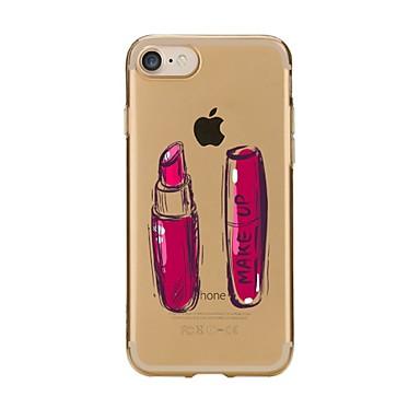 Maska Pentru Apple iPhone 7 Plus iPhone 7 Ultra subțire Transparent Model Capac Spate Femeie Sexy Moale TPU pentru iPhone 7 Plus iPhone 7