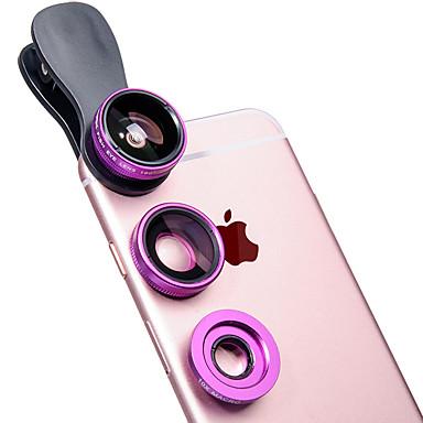 banner lq-sj001 lentilă pentru telefoane mobile 180 lentilă pentru ochi de pește 0.65x obiectiv cu unghi larg de 10x sticlă de aluminiu