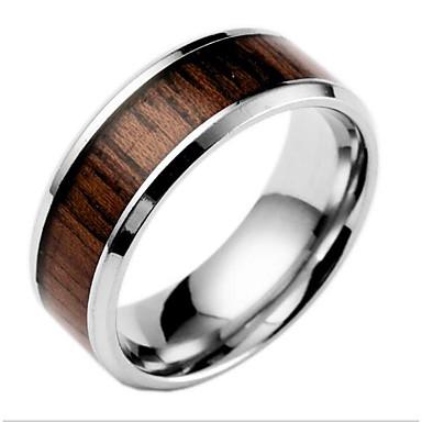 Bărbați Pentru femei Band Ring Modă Oțel titan Altele Costum de bijuterii Zilnic
