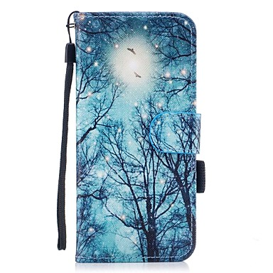 Maska Pentru Samsung Galaxy S8 Plus S8 Titluar Card Portofel Cu Stand Întoarce Magnetic Model Carcasă Telefon Copac Greu PU piele pentru
