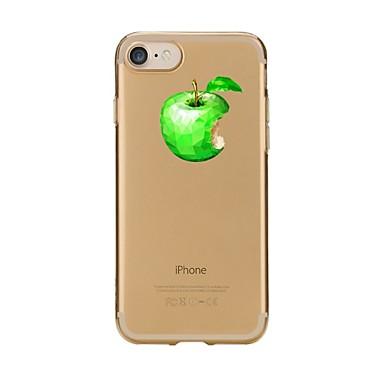 Maska Pentru Apple iPhone 7 Plus iPhone 7 Transparent Model Capac Spate Fruct Moale TPU pentru iPhone 7 Plus iPhone 7 iPhone 6s Plus