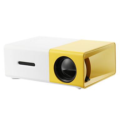 ieftine Accesorii Audio & Video-yg300 home cinema cinema usb hdmi av sd mini portabil hd condus lcd proiector home media suport film player 1080p AV, usb, SD card, 320 x 240 hdmi / usb / av / cvbs pentru biroul de acasa