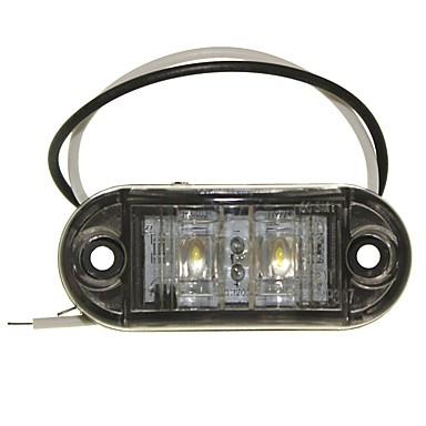 Недорогие Фары для мотоциклов-SENCART Грузовик / Мотоцикл / Автомобиль Лампы 1W Dip LED 90lm 2 Внешние осветительные приборы For Универсальный Все года