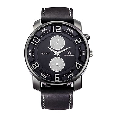 Bărbați Ceas Sport Ceas de Mână Ceas Casual Chineză Quartz / Silicon Cauciuc Bandă Vintage Casual Negru