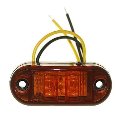 Недорогие Фары для мотоциклов-SENCART 10 шт. Грузовик / Мотоцикл / Автомобиль Лампы 1W Dip LED 90lm 2 Внешние осветительные приборы For Универсальный Все года