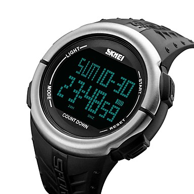 skmei femeie bărbat 1286 ceas electronic de circulație multifuncțională