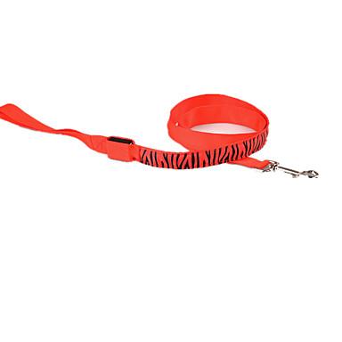 Câine Lese Siguranță Zebră Terilenă Galben Rosu Verde Albastru Roz