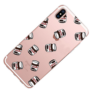 Custodia Per disegno iPhone Apple TPU 8 retro X Plus iPhone 8 Per Fantasia iPhone 06227704 iPhone Morbido 8 X per iPhone Transparente Alimenti ddwrqE8x