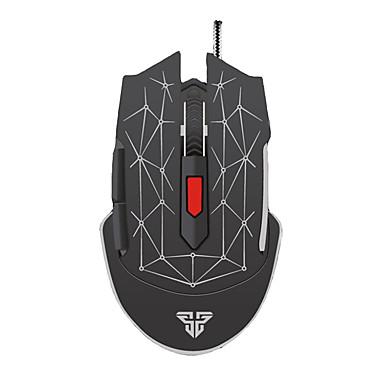 fantech x7 șoareci șoarece cu fir cu fir 6 butoane mouse-ul computer optic cu iluminare reglabilă de 4800 dpi