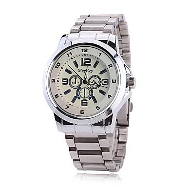 Bărbați Ceas de Mână Ceas Elegant  Ceas La Modă Chineză Quartz imitație de diamant Aliaj Bandă Charm Casual Elegant Argint