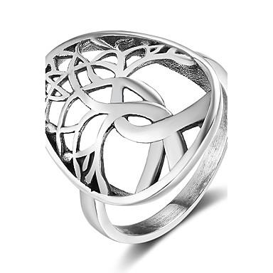 Pentru femei Band Ring Argintiu Plastic Copacul Vieții Personalizat Crăciun Absolvire Costum de bijuterii