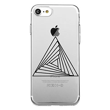 voordelige iPhone 5 hoesjes-hoesje Voor iPhone 7 / iPhone 7 Plus / iPhone 6s Plus iPhone 8 Plus / iPhone 8 / iPhone SE / 5s Patroon Achterkant Geometrisch patroon Zacht TPU