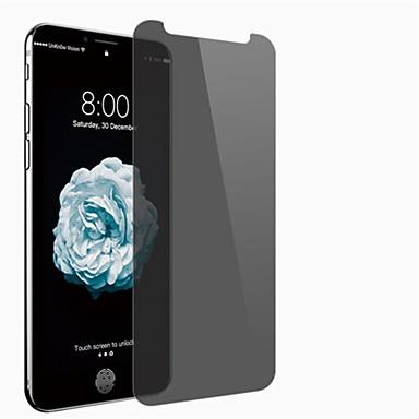 Protecteur d'écran Apple pour iPhone X Verre Trempé 1 pièce Ecran de Protection Intégral Vie Privée Anti-espion Antidéflagrant Dureté 9H