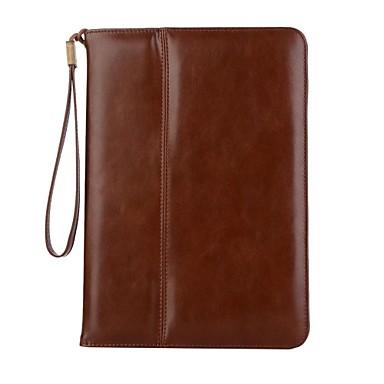 pentru ipad (2017) portofel pentru carcasă pentru carcasa cazului cu carcasă plină carcasă solidă piele moale din piele naturală pentru