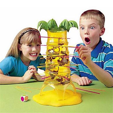 Jocuri de masă Maimuțuirea Interacțiunea familială Maimuţă Făcând maimuțele Dump Monkey Jocurile părinte-copil Plastice Desen animat