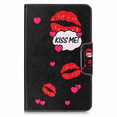 Case For Samsung Galaxy Full Body Cases Tablet Cases Word / Phrase Hard PU Leather for Tab A 10.1 (2016)