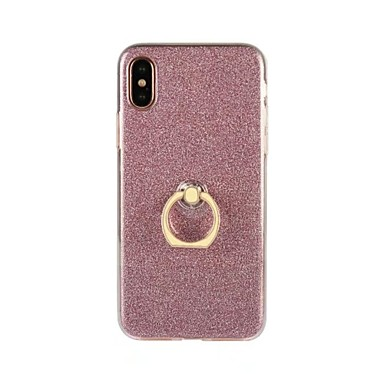 Custodia iPhone iPhone Apple 8 X Per iPhone Glitterato 8 iPhone per ad Supporto iPhone iPhone retro Plus 8 Per Plus 8 Morbido 06290600 anello TPU X RrnqxCR