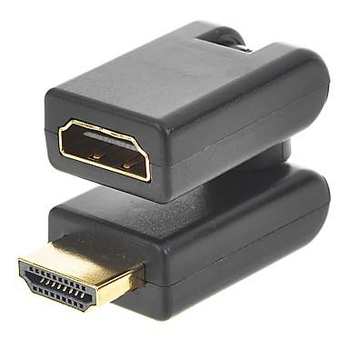 Cwxuan HDMI 1.4 Câble d'extension, HDMI 1.4 to HDMI 1.4 Câble d'extension Mâle - Femelle 1080P Cuivre plaqué or
