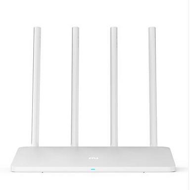 Original Xiaomi Mi WiFi Router 3A 64MB 1167Mbps 802.11ac Dual Band MiWiFi APP Control with 4 Antennas