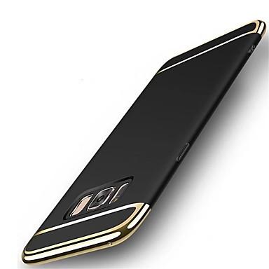 Недорогие Чехлы и кейсы для Galaxy S6-Кейс для Назначение SSamsung Galaxy S8 Plus / S8 / S7 edge Защита от удара / Ультратонкий Кейс на заднюю панель Сплошной цвет Твердый ПК