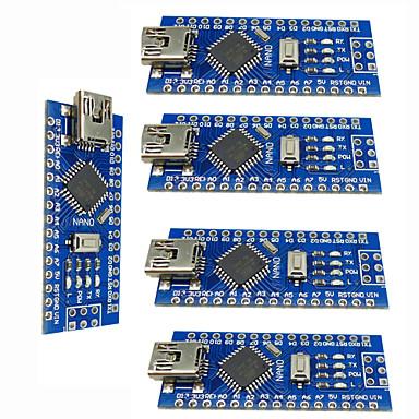 Nano v3.0 atmega328p verbeteren controller boards voor arduino (5 stuks)
