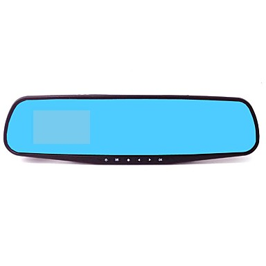 480p 848 x 480 HD 1280 x 720 Full HD 1920 x 1080 Rejestrator samochodowy 2.8  cala Ekran Dash Cam