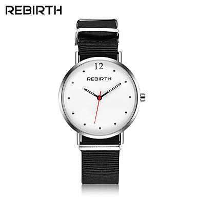 cheap Men's Watches-Men's Women's Wrist watch Casual Watch Fashion Watch Chinese Quartz Water Resistant / Water Proof Fabric Band Casual Minimalist Elegant