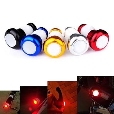 Φώτα Ποδηλάτου Μπροστινό φως ποδηλάτου τέλος bar φώτα LED - Ποδηλασία Εύκολη μεταφορά Φωτιστικό LED Μπαταρία Button Lumens Μπαταρία