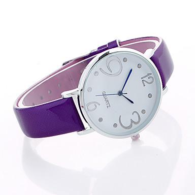 Pentru femei Quartz Ceas de Mână Ceas Sport Aliaj Bandă Charm Lux Creative Casual Unic Watch Creative Elegant Modă Cool Negru Gri Violet