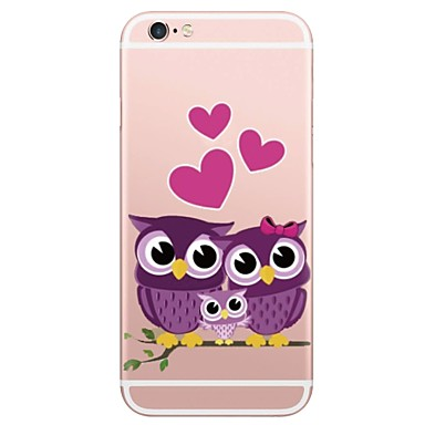 Case For Apple iPhone X iPhone 8 Plus Pattern Back Cover Owl Soft TPU for iPhone X iPhone 8 Plus iPhone 8 iPhone 7 Plus iPhone 7 iPhone