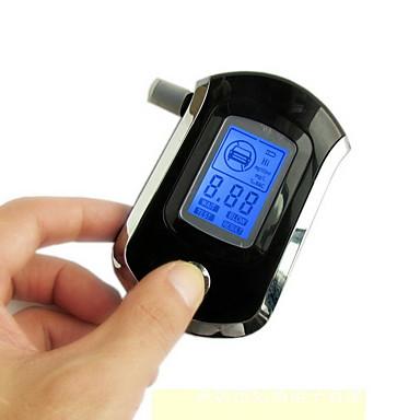at-818 prefessional αστυνομική φορητή ψηφιακή αναπνοή αναλυτή αλκοόλης tester αλκοόλ