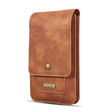 Case For Huawei Mate 10 Flip Pouch Bag Solid Colored Hard Genuine Leather