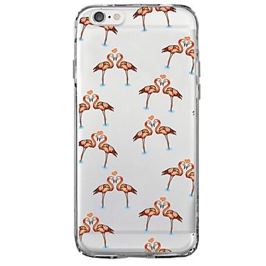 per animati 8 Per Morbido Per X Animali Apple Fenicottero iPhone iPhone Fantasia disegno 06407920 retro Plus iPhone TPU X iPhone Cartoni Custodia cTSqwxnZOO