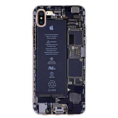 케이스 제품 Apple iPhone X iPhone 8 iPhone 6 iPhone 7 Plus iPhone 7 울트라 씬 패턴 뒷면 커버 단어 / 문구 소프트 TPU 용 iPhone X iPhone 8 Plus iPhone 8 iPhone 7