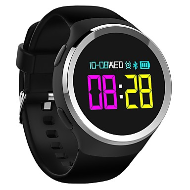 זול שעונים חכמים-N69 ל Android 4.4 מודד לחץ דם / כלוריות שנשרפו / בלותוט' מובנה / בקרת APP Tracker דופק / מד צעדים / מזכיר שיחות / מד פעילות / מעקב שינה / תזכורת בישיבה / Alarm Clock / NRF52832 / 250-300