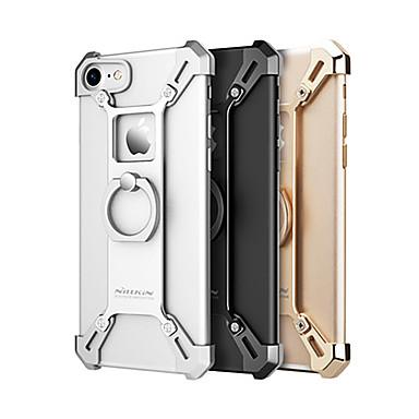 Pouzdro Uyumluluk Apple iPhone 7 / iPhone 7 Plus Şoka Dayanıklı / Yüzüklü Tutacak Arka Kapak Solid Sert Metal için iPhone 7 Plus / iPhone