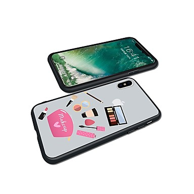 Fantasia iPhone Custodia 8 iPhone Glitterato Apple 7 Per Per iPhone Plus retro 8 iPhone X 06460802 per iPhone Plus X TPU disegno Morbido iPhone 8 WFFq0rpBn