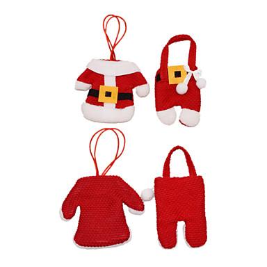 1pc Santa Weihnachtsstrumpf-Halter, Urlaubsdekoration 13.0*10.0*2.0