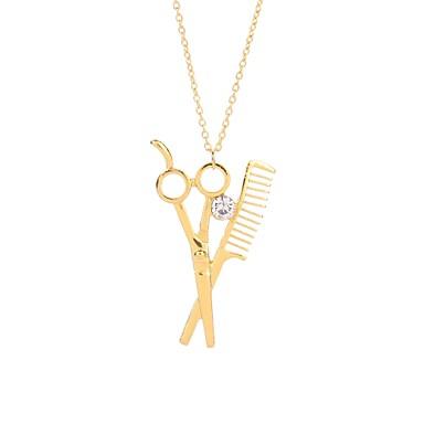 billige Mode Halskæde-Herre Dame Halskædevedhæng Sakse Asiatisk Mode Guld Sølv Rose Guld Halskæder Smykker 1 Til Nytår Valentine