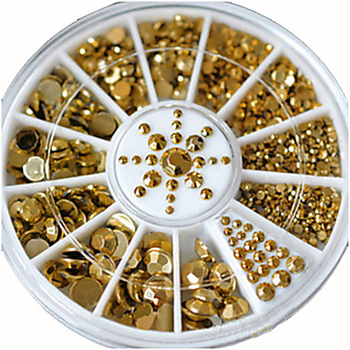 1 Kynsien korut kiiltää metallinen Modieus Hoge kwaliteit Dagelijks