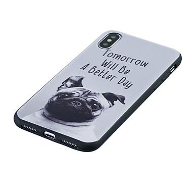 8 iPhone disegno Morbido iPhone retro Con 8 Plus Fantasia Per Plus iPhone IMD iPhone Apple X 8 Per iPhone X Custodia TPU per 06445709 cagnolino zCqRTR
