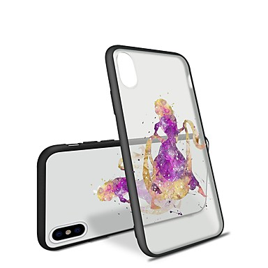 8 iPhone Per iPhone Plus 06460762 per Plus animati Per Cartoni iPhone iPhone Sexy disegno Fantasia retro X 8 iPhone Apple 8 Custodia X TPU Morbido wpTAgq
