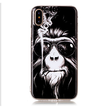 Case For Apple iPhone X iPhone 8 iPhone 8 Plus iPhone 5 Case Pattern Back Cover Animal Soft TPU for iPhone X iPhone 8 Plus iPhone 8