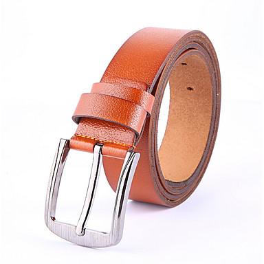 baratos Roupa de Homem Moderna-Homens Trabalho Cinto para a Cintura Sólido