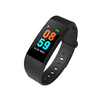 זול שעונים חכמים-חכמים שעונים I9 ל Android 4.4 / iOS כלוריות שנשרפו / בלותוט' מובנה / גע בחיישן / מד צעדים / בקרת APP Tracker דופק / מד צעדים / מזכיר שיחות / מד פעילות / מעקב שינה / תזכורת בישיבה / Alarm Clock
