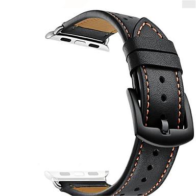 Недорогие Ремешки для Apple Watch-Ремешок для часов для Apple Watch Series 4/3/2/1 Apple Современная застежка Кожа Повязка на запястье